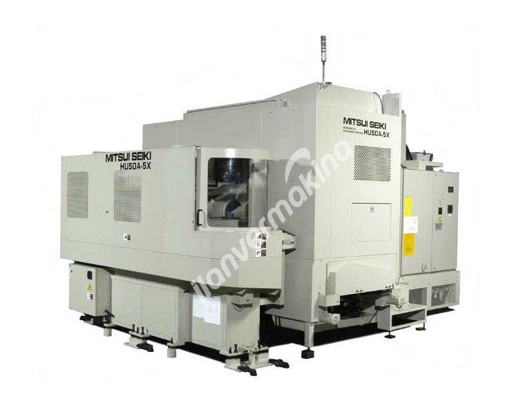 Mitsui-Seiki HU50A-5X CNC 5 Eksen Yatay İşleme Merkezi - Tezmaksan