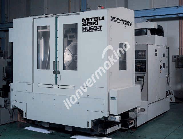 Mitsui-Seiki HU63-T CNC 5 Eksen Yatay İşleme Merkezi - Tezmaksan