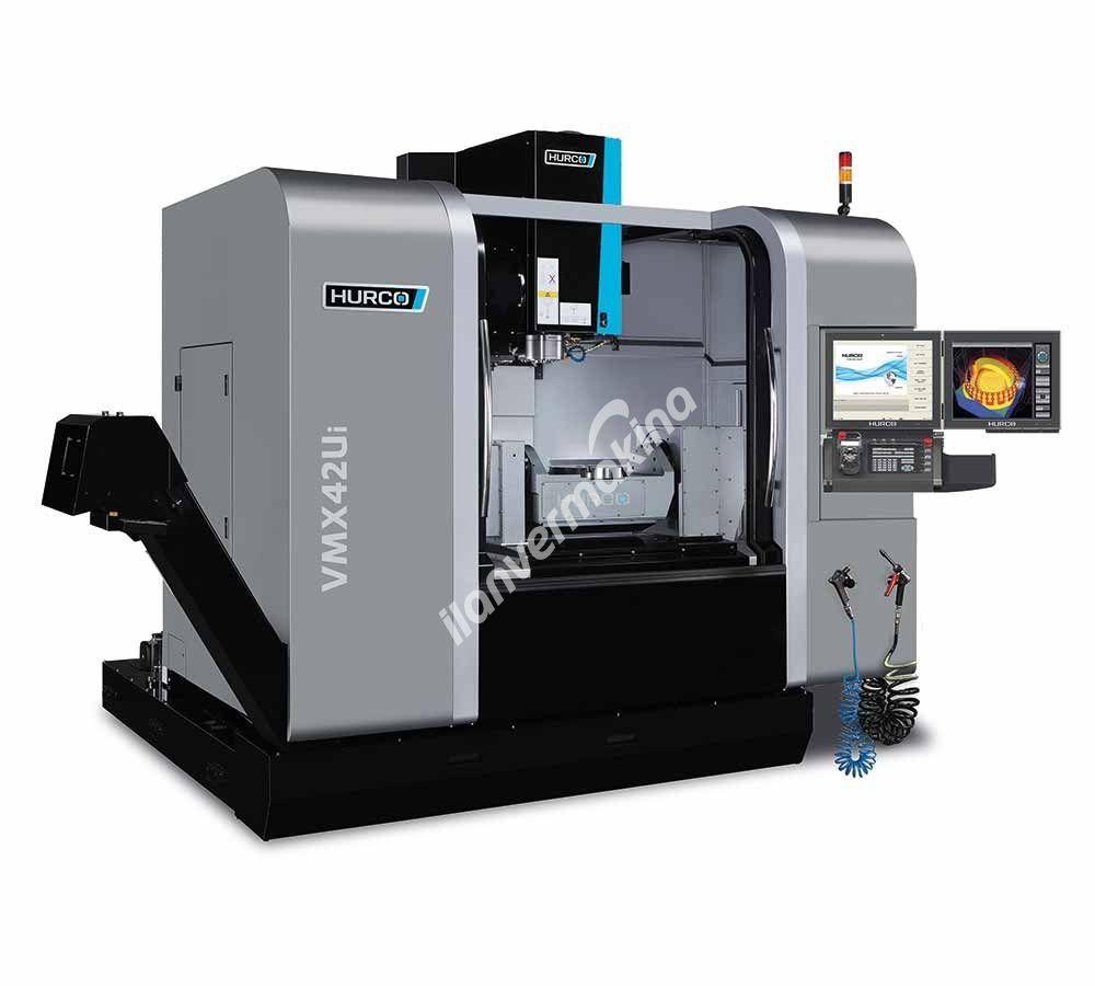 HURCO VMX42Ui 5 Eksenli CNC İşleme Merkezi - X eksen 1067 mm