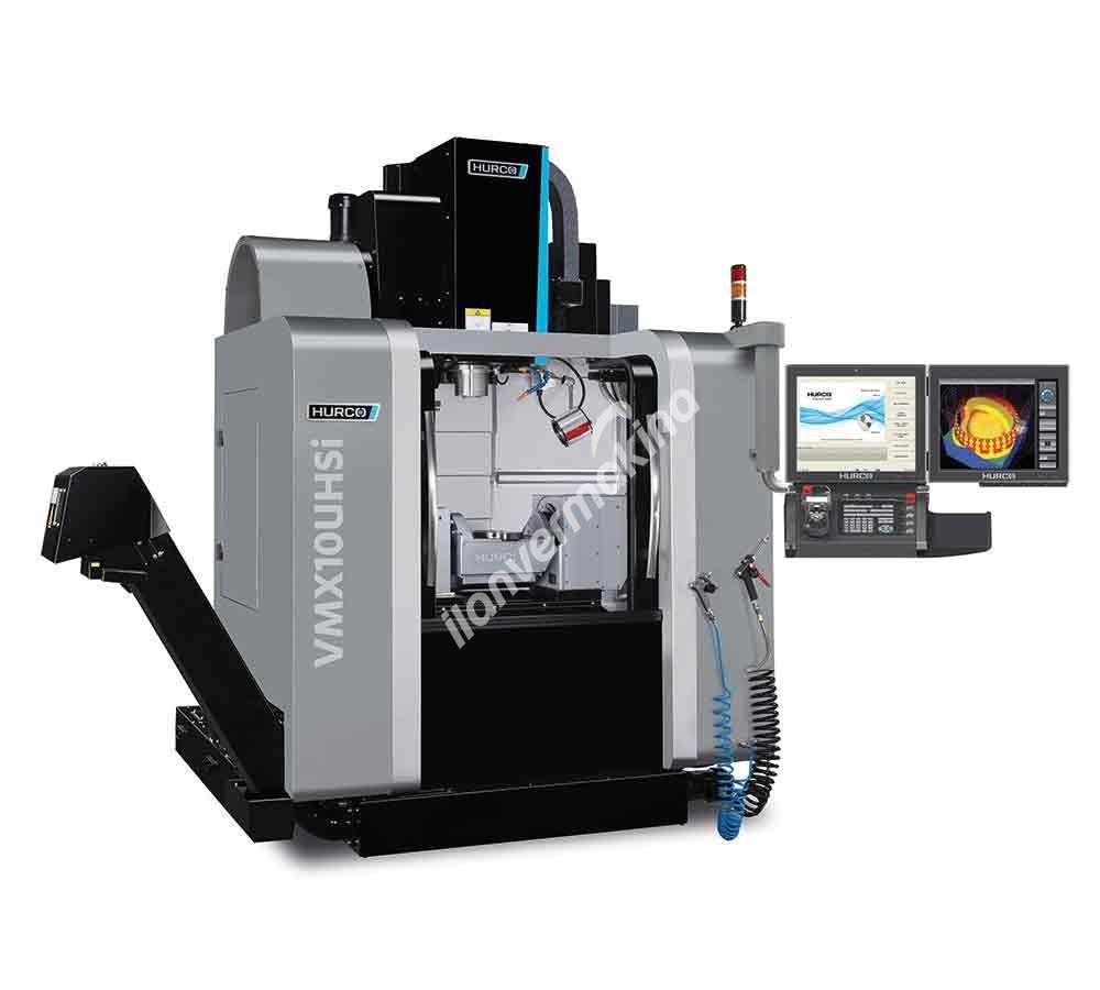 HURCO VM10UHSi 5 Eksenli CNC İşleme Merkezi - X eksen 530 mm
