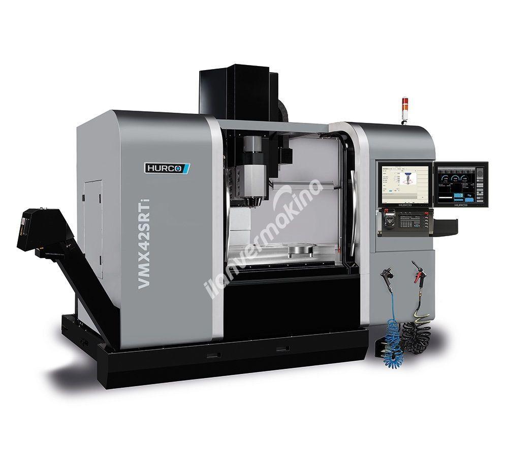 HURCO VMX42 SRTi 5 Eksenli CNC İşleme Merkezi - X Eksen 1067 mm