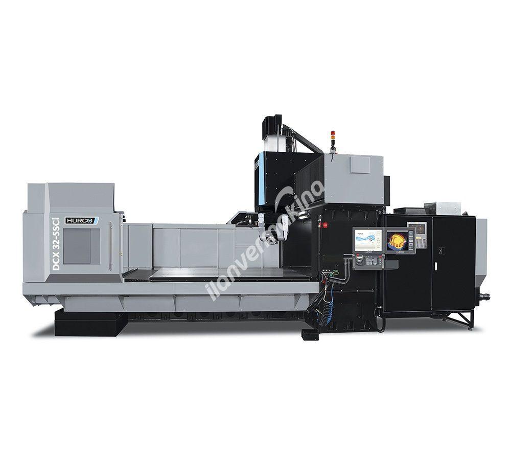 HURCO DCX32 5Sci CNC 5 Eksenli İşleme Merkezi - X eksen 3.200 mm