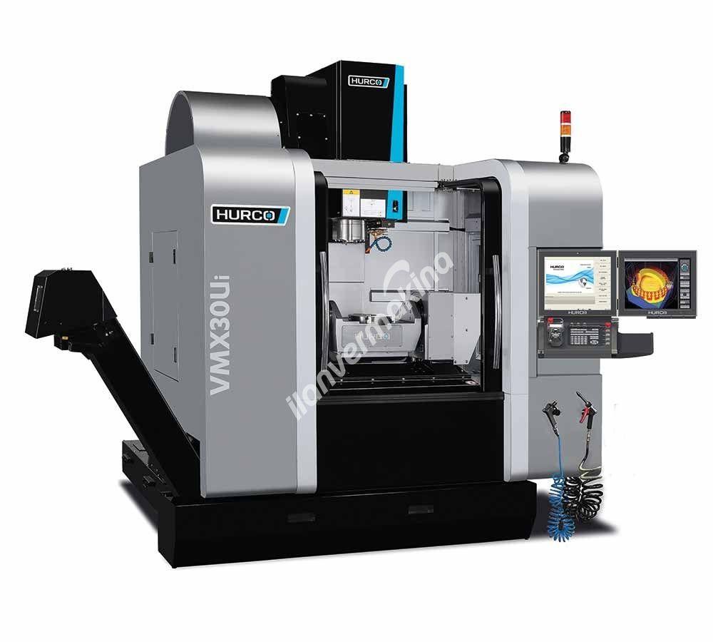 HURCO VMX30Ui 5 Eksenli CNC İşleme Merkezi - X eksen 760 mm