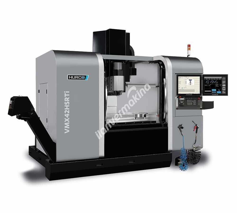 Hurco VMX42 HSRTi 5 Eksenli CNC İşleme Merkezi - X eksen 1067 mm