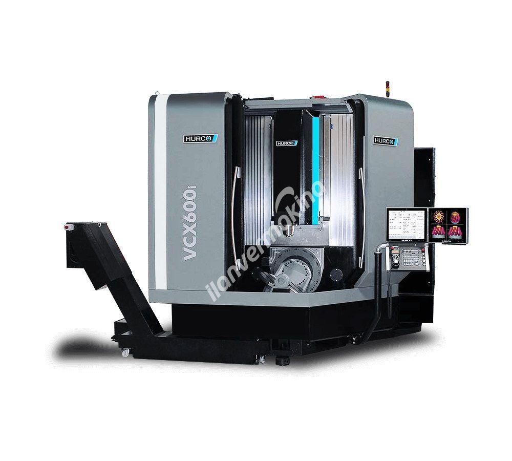 Hurco VCX 600i CNC 5 Eksenli İşleme Merkezi - X eksen 750 mm