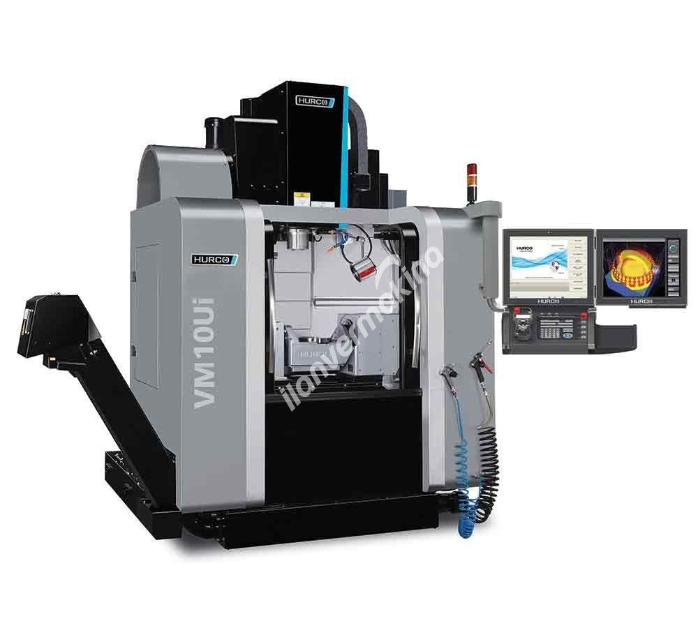 HURCO VM10Ui 5 Eksenli CNC İşleme Merkezi - X eksen 530mm