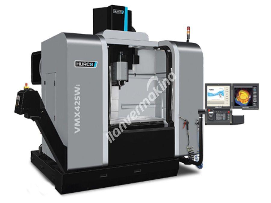 HURCO VMX42SWi 5 Eksenli CNC İşleme Merkezi - X eksen 1067 mm.