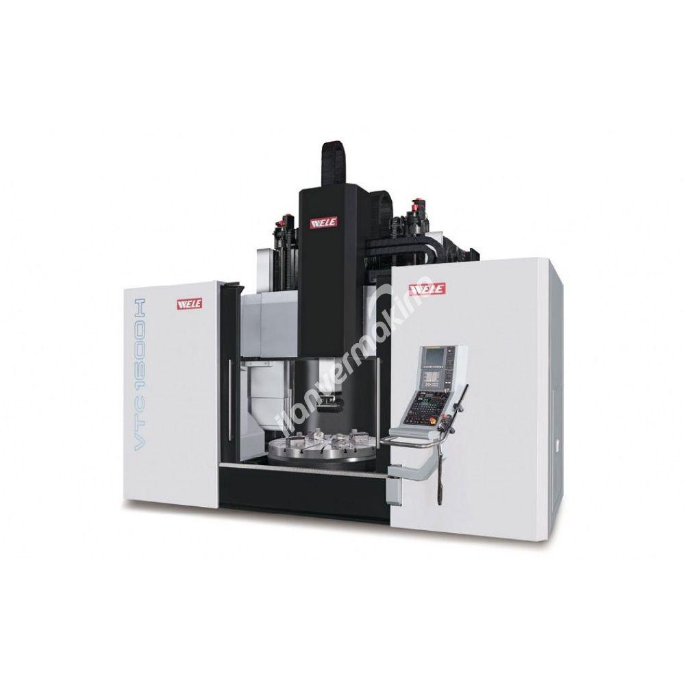 WELE VTC1612-20 - WELE VTC4032-48 CNC DİK İŞLEME MERKEZİ - YUNTES MAKİNA