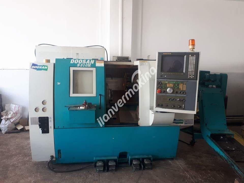 DOOSAN S310M 10 C EKSEN CNC TORNA