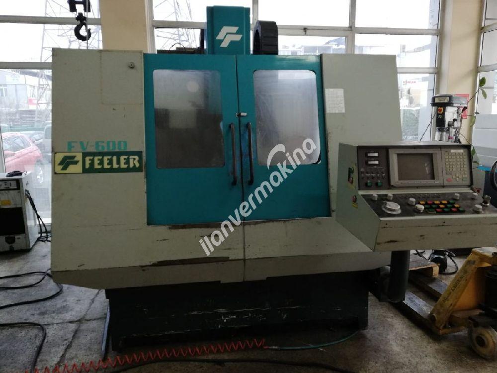 FEELER FV600 CNC İŞLEME MERKEZİ