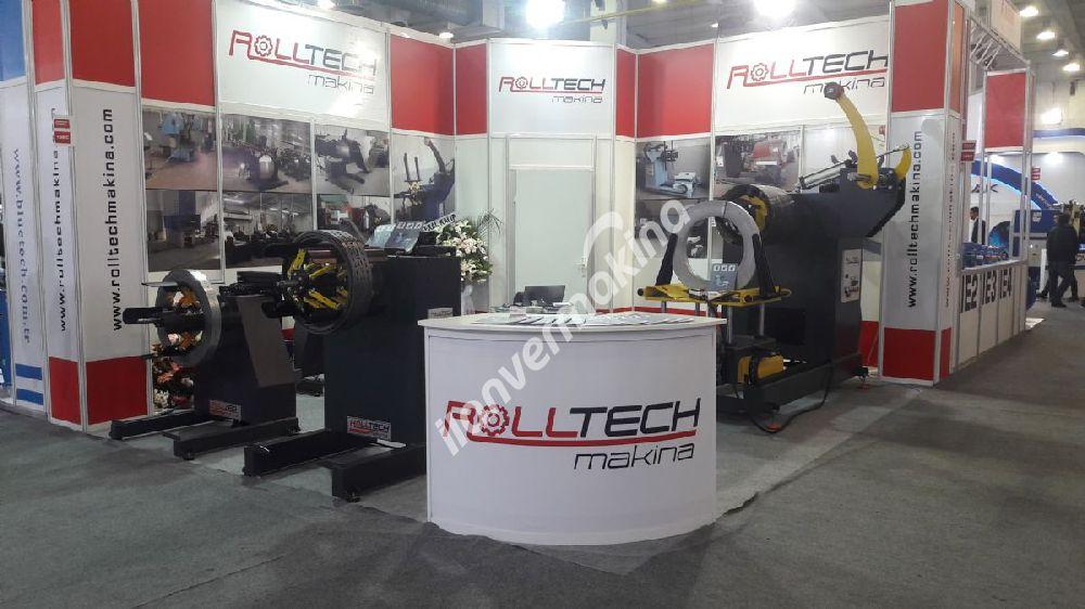 Rolltech 1 Ton Mekanik Rulo Sac Açıcı
