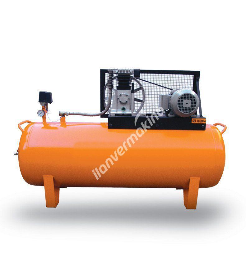 Çift Kademeli Pistonlu Kompresörler - Double Stage Piston Compressor