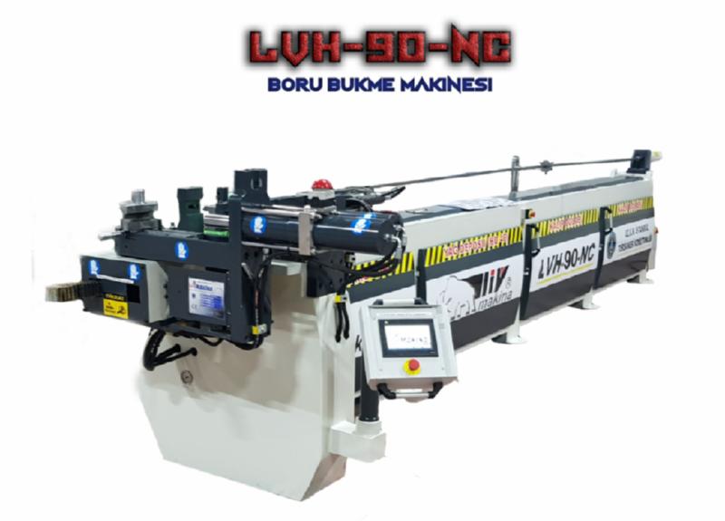 CNC Boru Bükme Kıvırma Makineleri