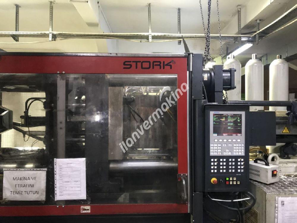 330Ton 1000 gram SXS Stork Plastik Enjeksiyon Makinesi Çok Temiz