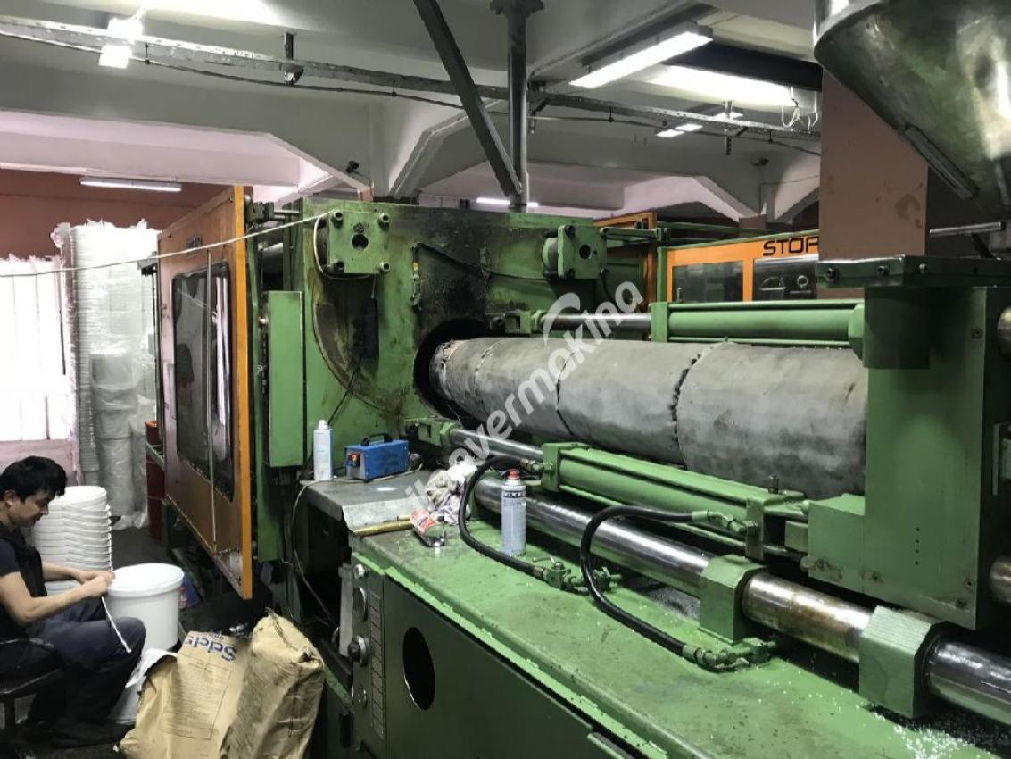 550 Ton  2500 gram Stork Plastik Enjeksiyon Makinesi Çok Temiz