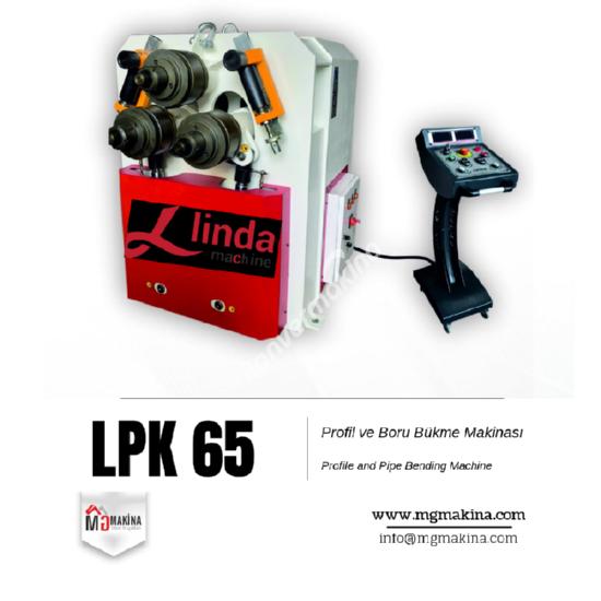 LPK 65 Profil ve Boru Bükme Makinası