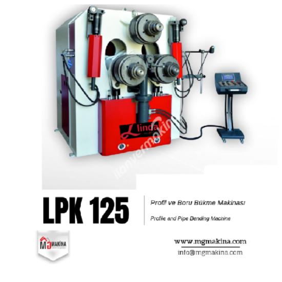 LPK 125 Profil ve Boru Bükme Makinası