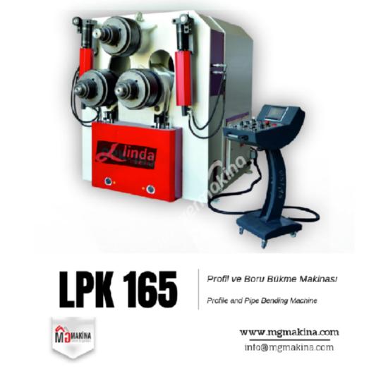 LPK 165 Profil ve Boru Bükme Makinası