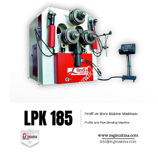 LPK 185 Profil ve Boru Bükme Hidrolik Makinası