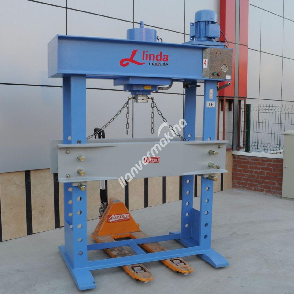 150 Ton Kollu Motorlu Hidrolik Atölye Presi - Hydraulic Workshop Press