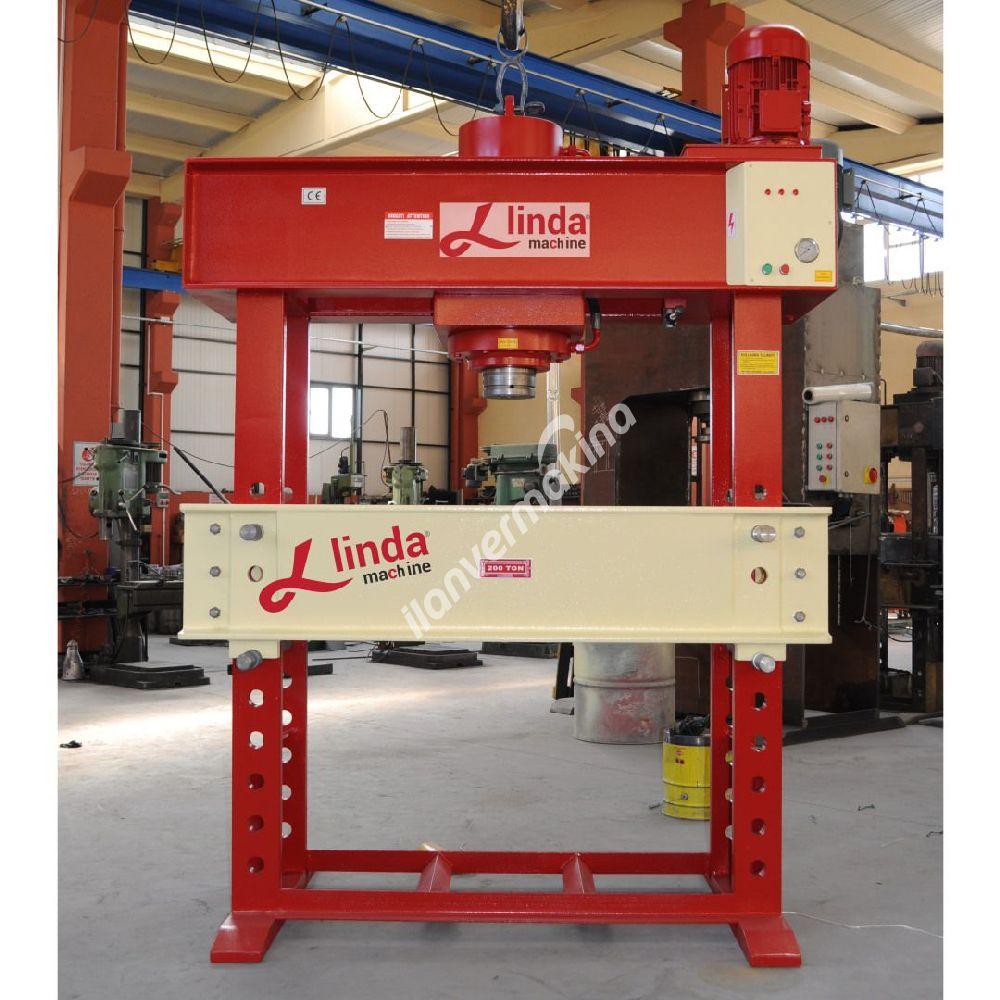 200 Ton Motorlu Hidrolik Atölye Presi  - Hydraulic Workshop Press