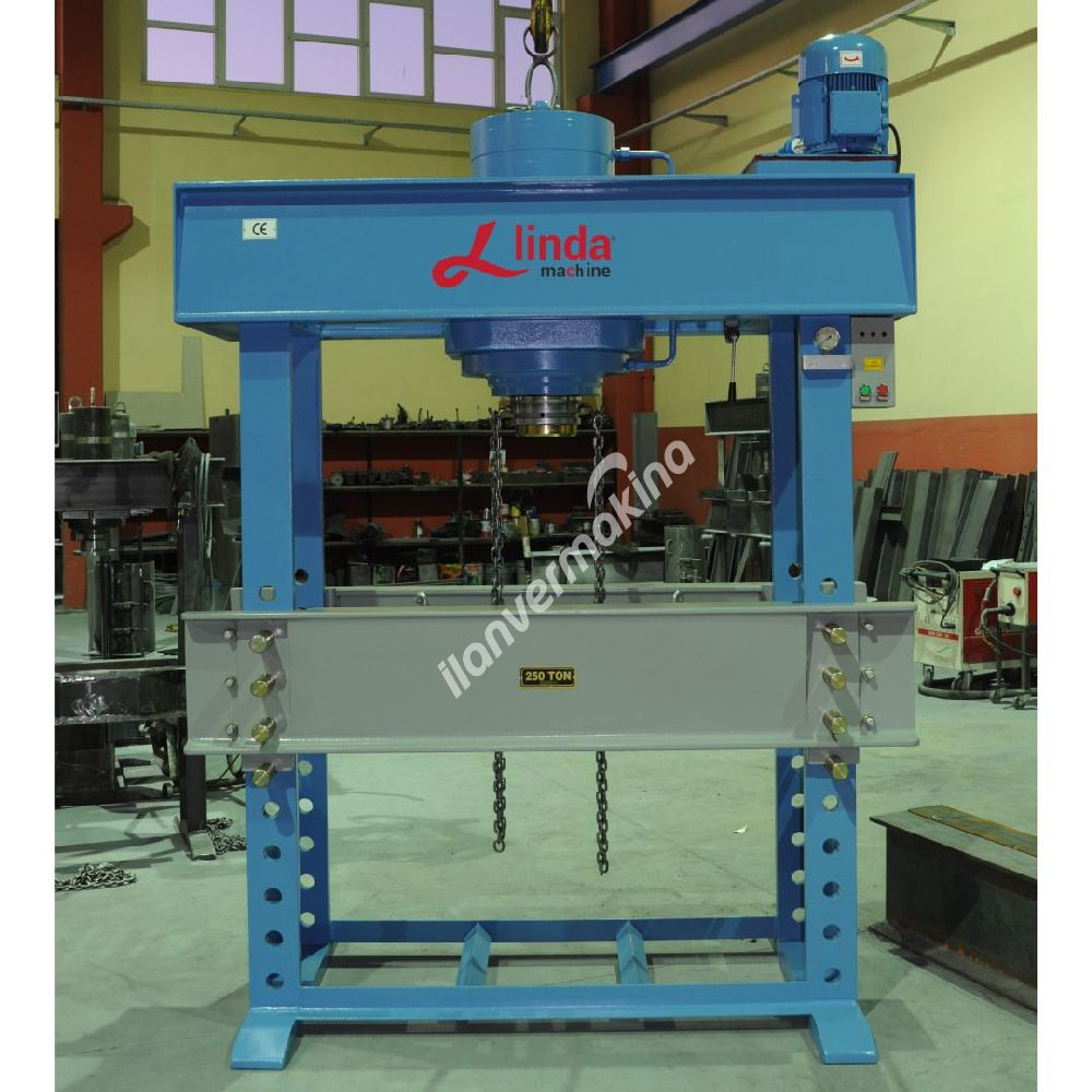 250 Ton Kollu Motorlu Hidrolik Atölye Presi  - Hydraulic Workshop Press