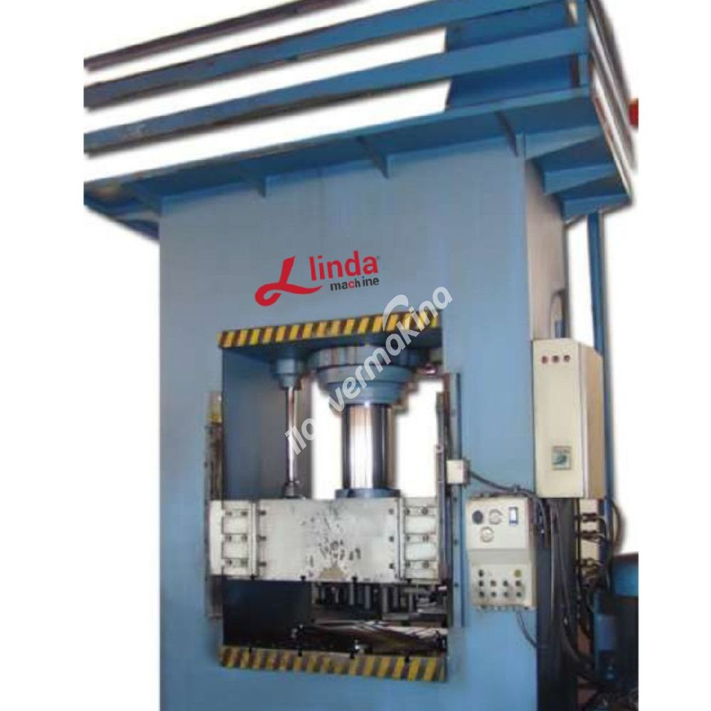 500 Ton Hidrolik  Sıvama Pres Linda Machine Marka - Hydraulıc Workshop Press