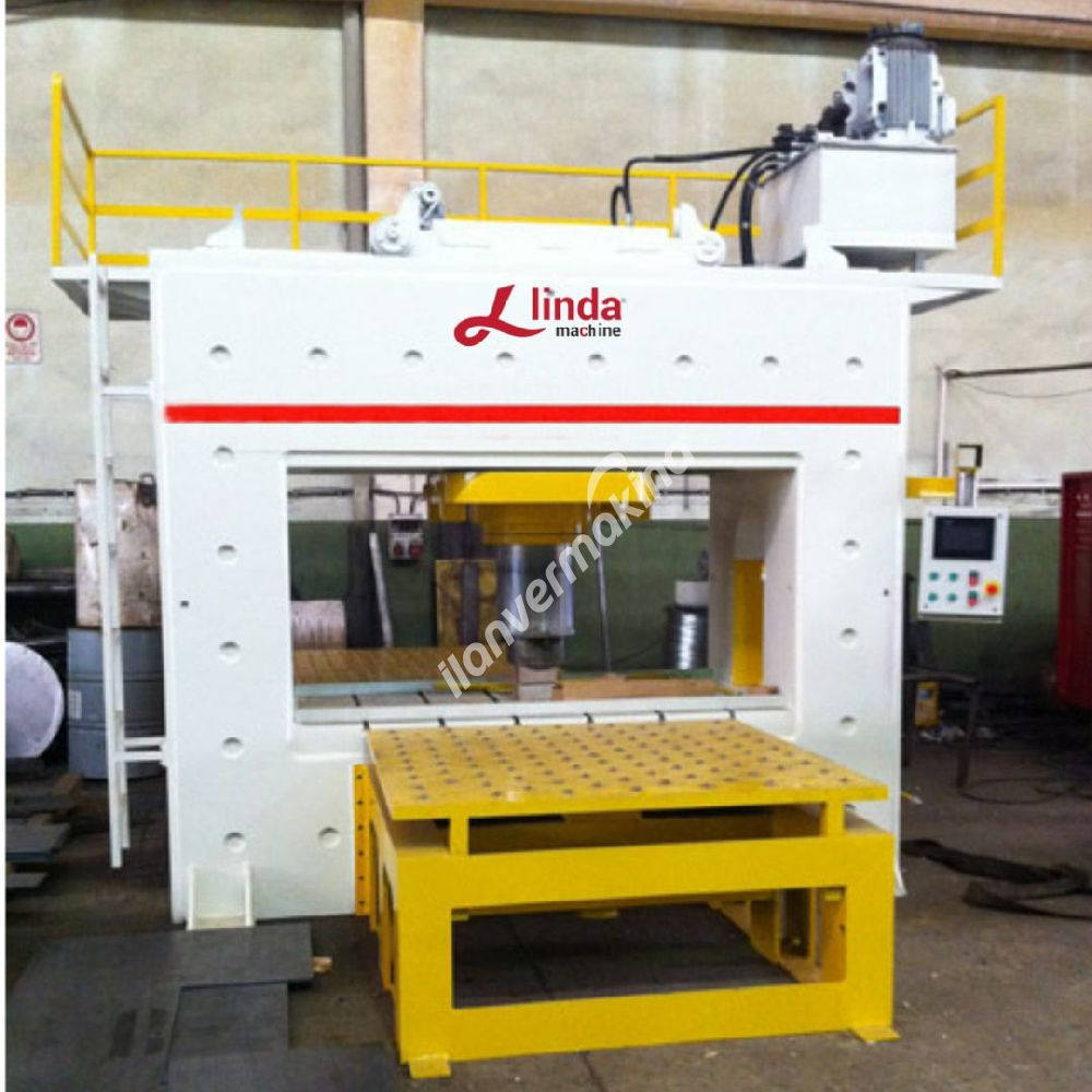 600 Tonluk Doğrultma Presi Linda Machine Marka - Straightening Press