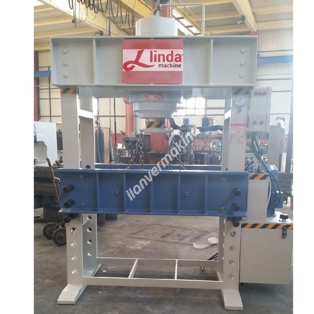 300 Ton Motorlu Hidrolik Atölye Presi  - Hydraulic Workshop Press