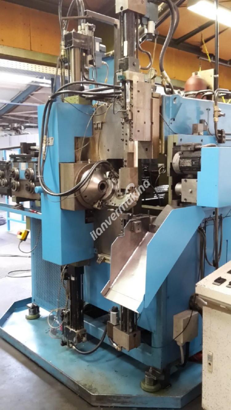 CNC 3D Tel Bükme Makinesi