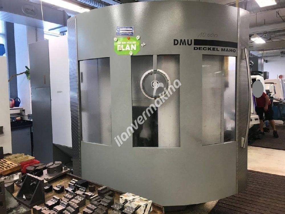 Deckel Maho 4 Eksen Cnc Dik İşleme Merkezi