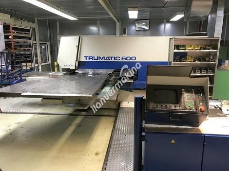 Trumpf CNC Panç Makinesi