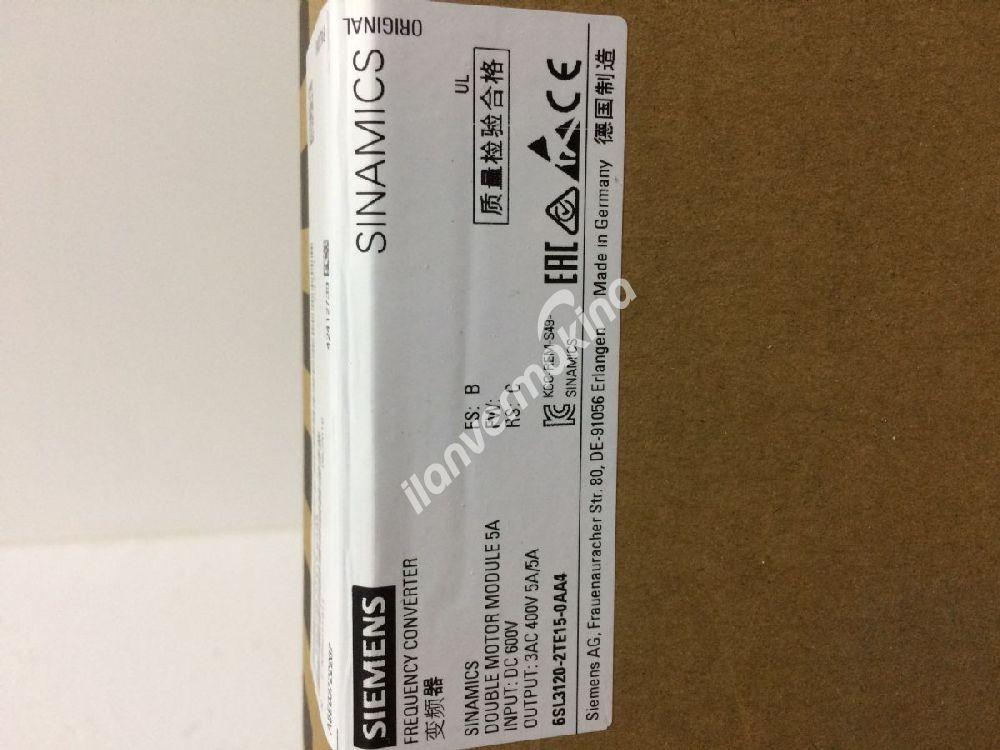 sürücü / driver 6SL3120-2TE15-0AA4 Orjinal sıfır kutusunda