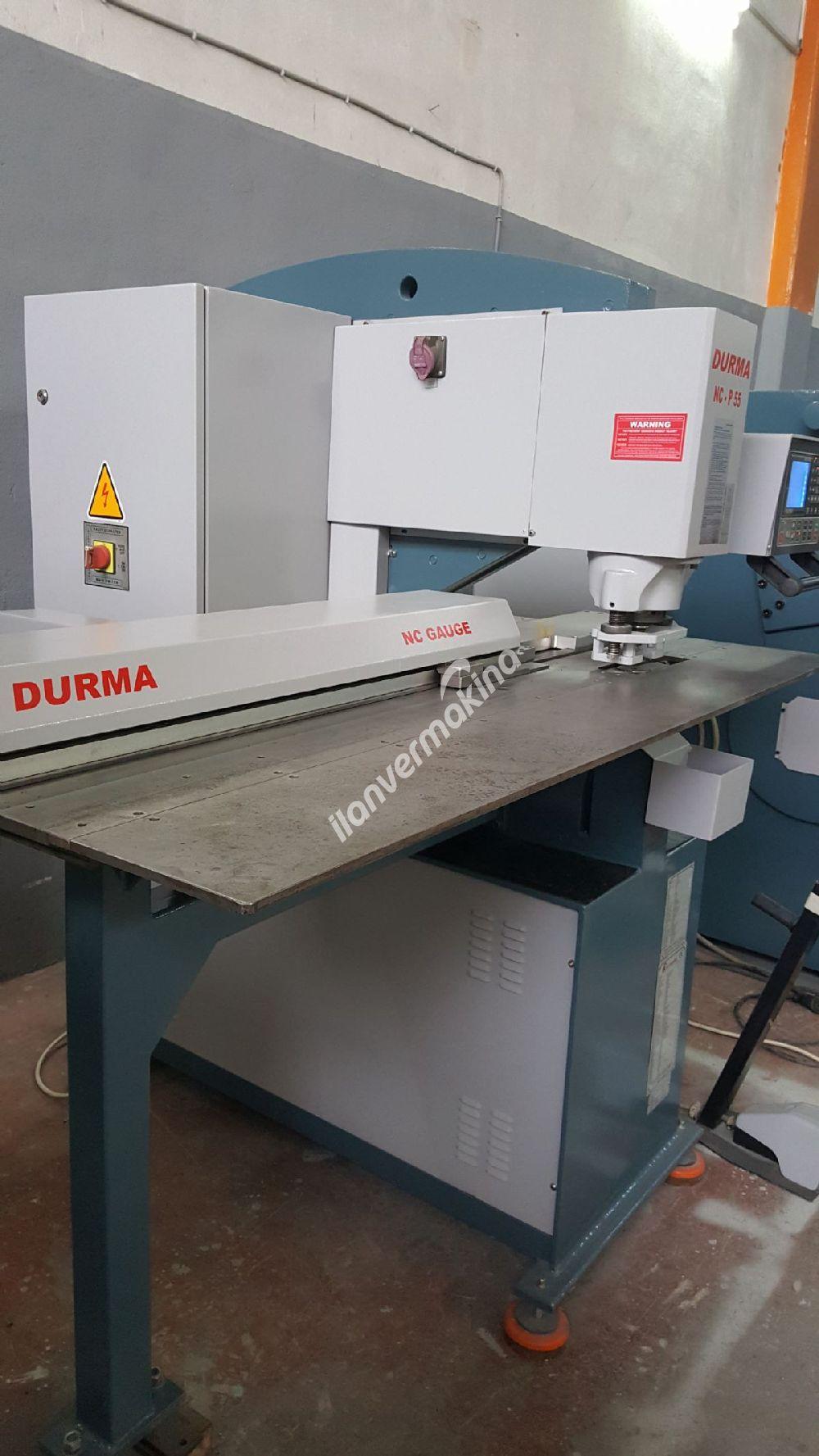 DURMA NC P 55 Delme Takım Değiştirme NC GAUGE PUNCH