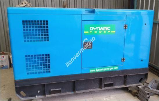 70 kVA Dynamic Power Dizel Jeneratör 24 saatte çok az kullanılmış