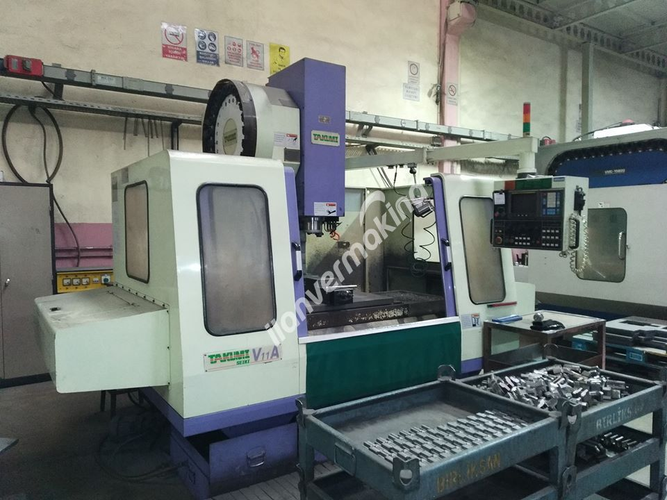 Takumi V11A CNC Dik İşleme Merkezi 1000X560x600