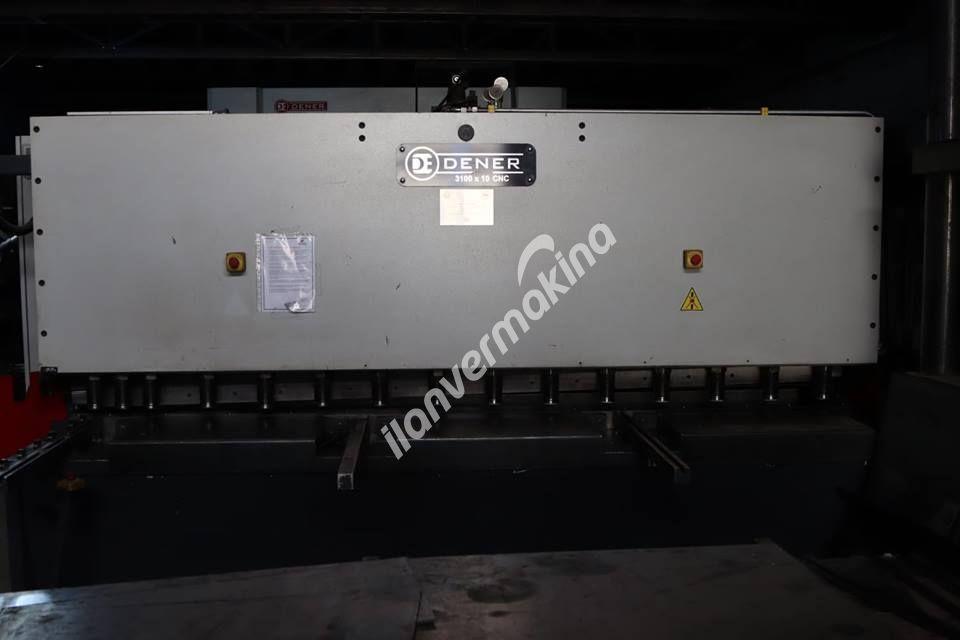 Dener 2016 Model  Px30135 3 Metre 135 Ton Apkant    Dener AS3110 3 Metre 10 mm Makas