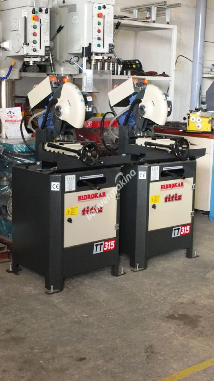 Titiz Tt-315 Sıfır Çapaksız Profil Daire Kesme
