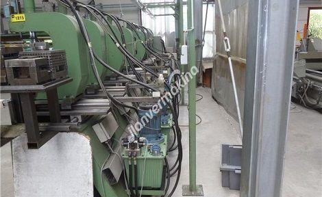 Hidrolik 8 Kafalı Panç Pres Makinesi