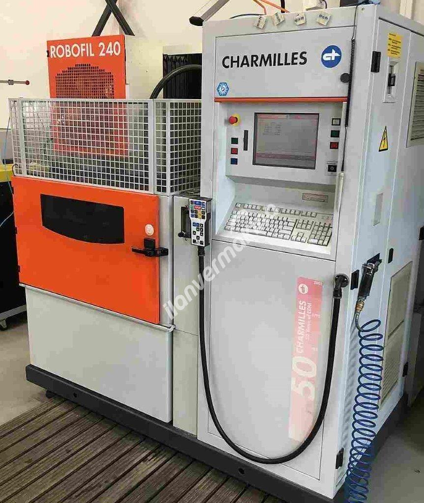 Charmilles Robofil 240 Tel Erozyon Makinesi