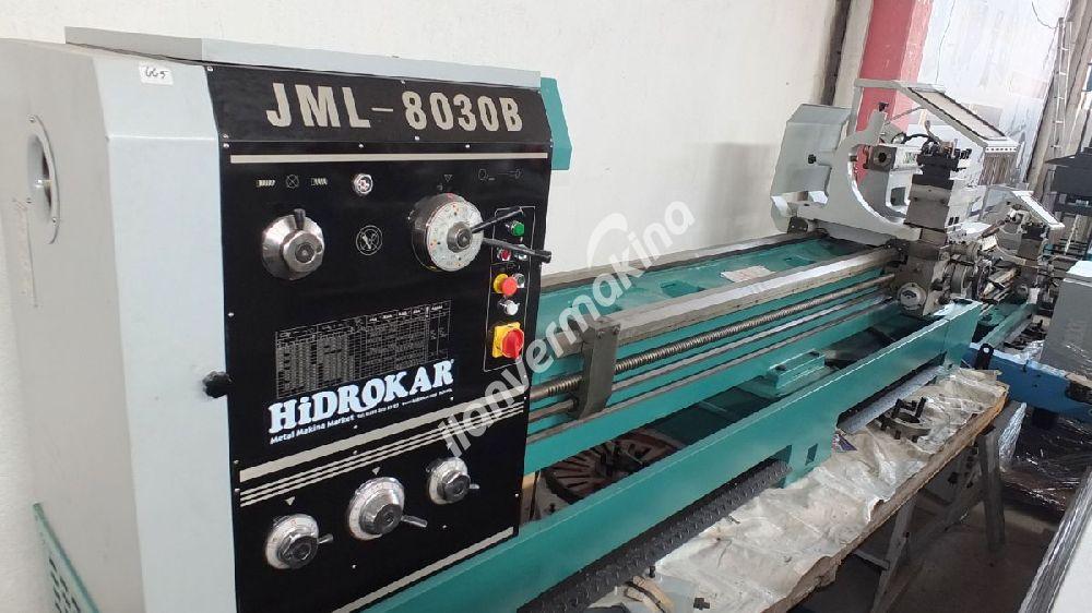 JETCO JML-8030B 3 METRE 800 ÇAP SIFIR TORNA TEZGAHI