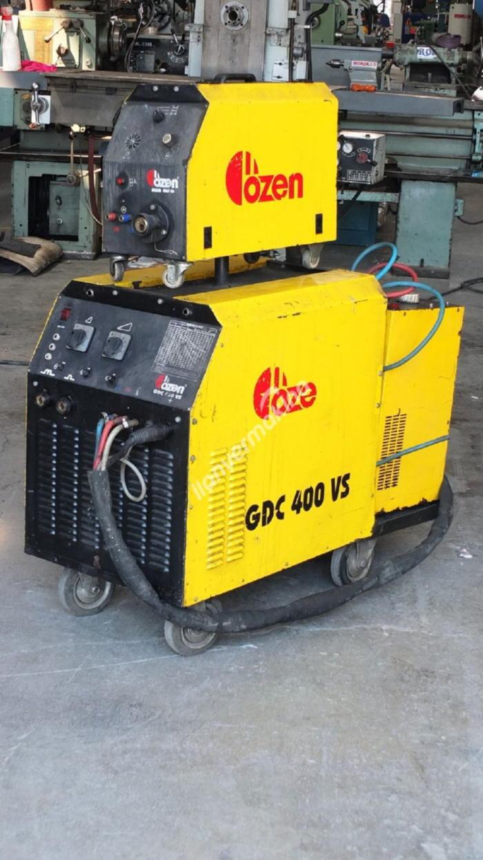 Özen GDC-400VS Soğutmalı Gazaltı Kaynak