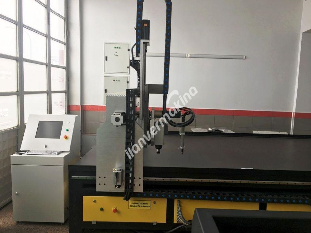 4 Eksen Nx714 Plazma Kesim 3200x2000mm. Z 500mm. 105 Amper (NOKTA CNC)