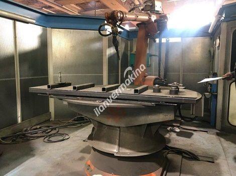 Endüstriyel Kuka Kaynak Robotu