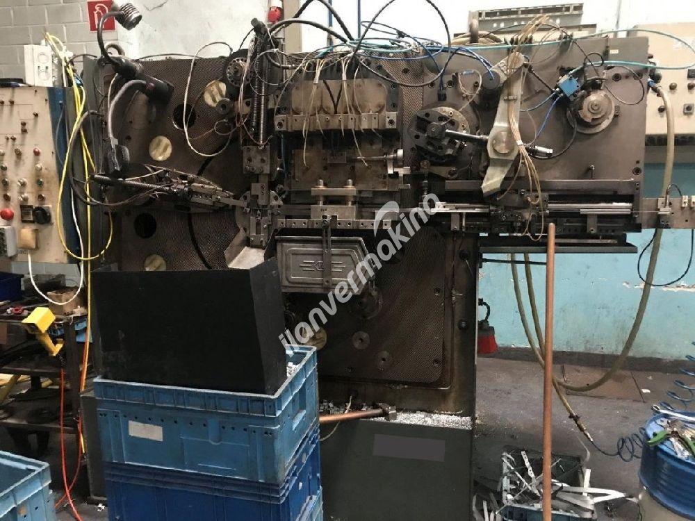 Şerit Sac Tel Bükme ve Delme Makinesi