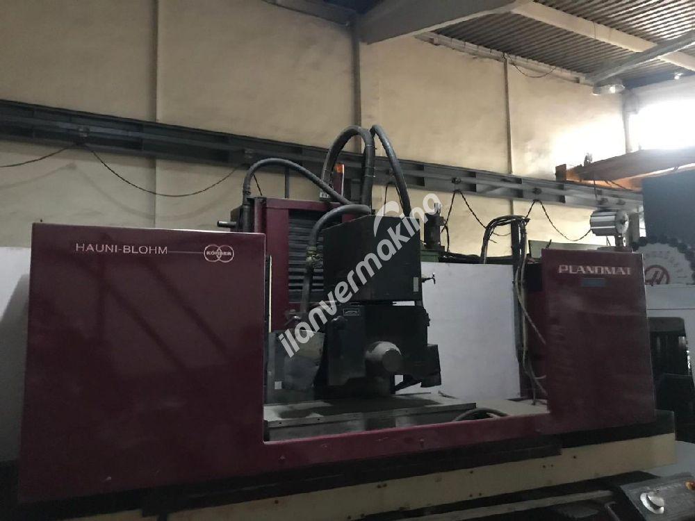 Hauni Blohm Planomat 410 CNC Taşlama