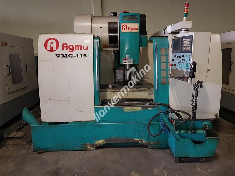 AGMA VMC 115 CNC DİK İŞLEME MERKEZİ