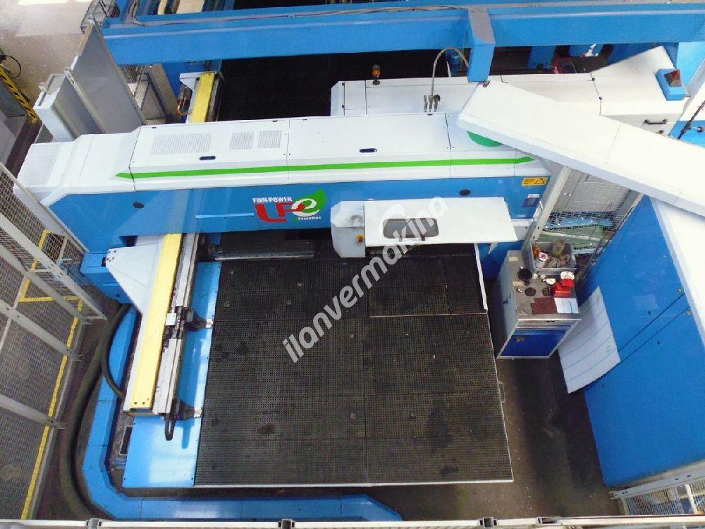 Fin Power Cnc Lazer Panç Makinesi