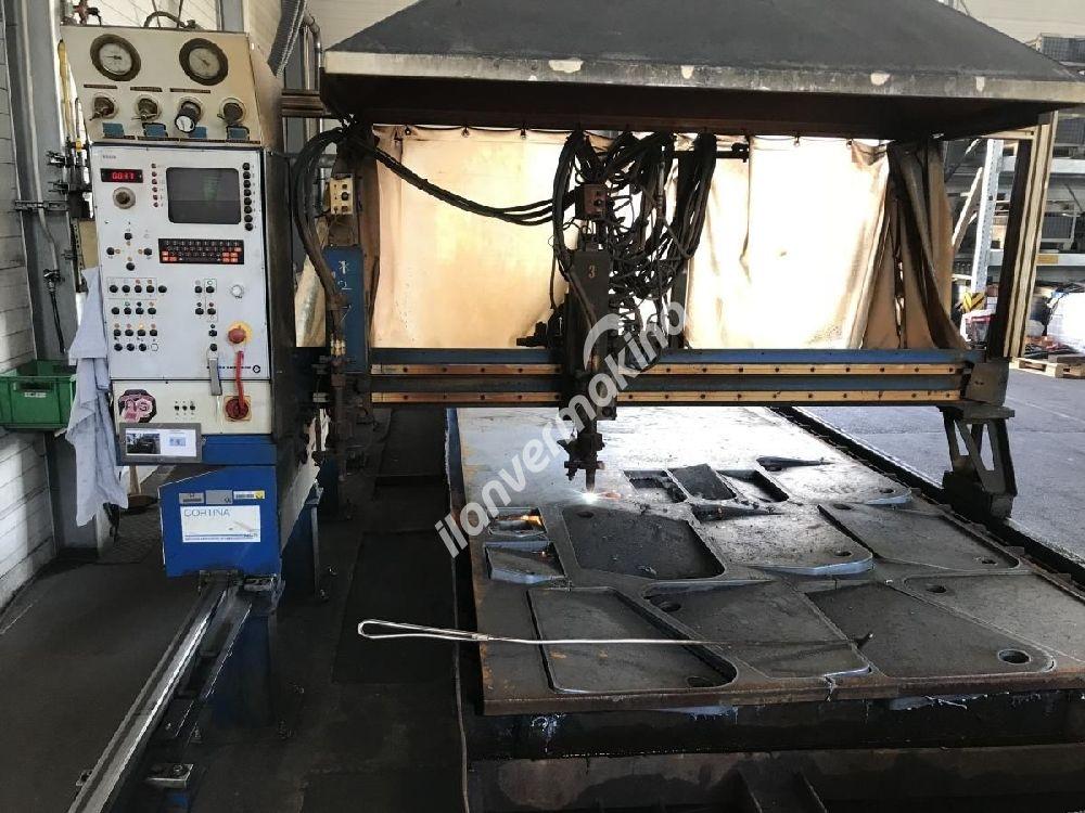 CNC Oksijen Sac Kesim Makinesi