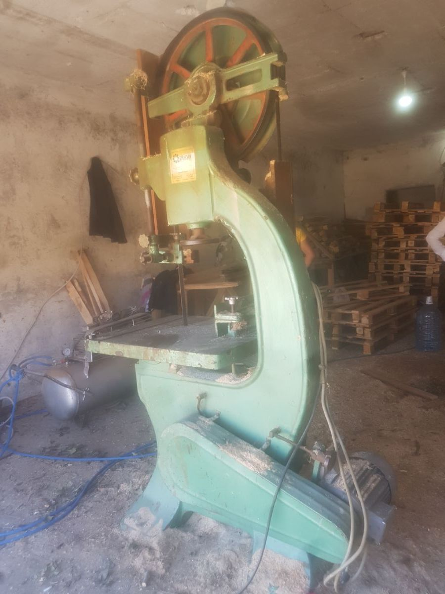 Kaba Talaş Makinesi